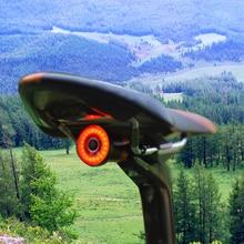 WasaFire XLITE100 Велосипедный спорт фонарик USB перезаряжаемые велосипед задний свет Автозапуск/стоп тормоз зондирования Мини светодиодный LED Велоспорт