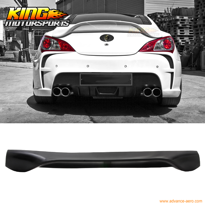 Fit For 10-11 Hyundai Genesis 2Dr Coupe Body Kit Trunk Lid Spoiler Wing Urethane дверь verda стефани глухая 2000х600 пвх итальянский орех