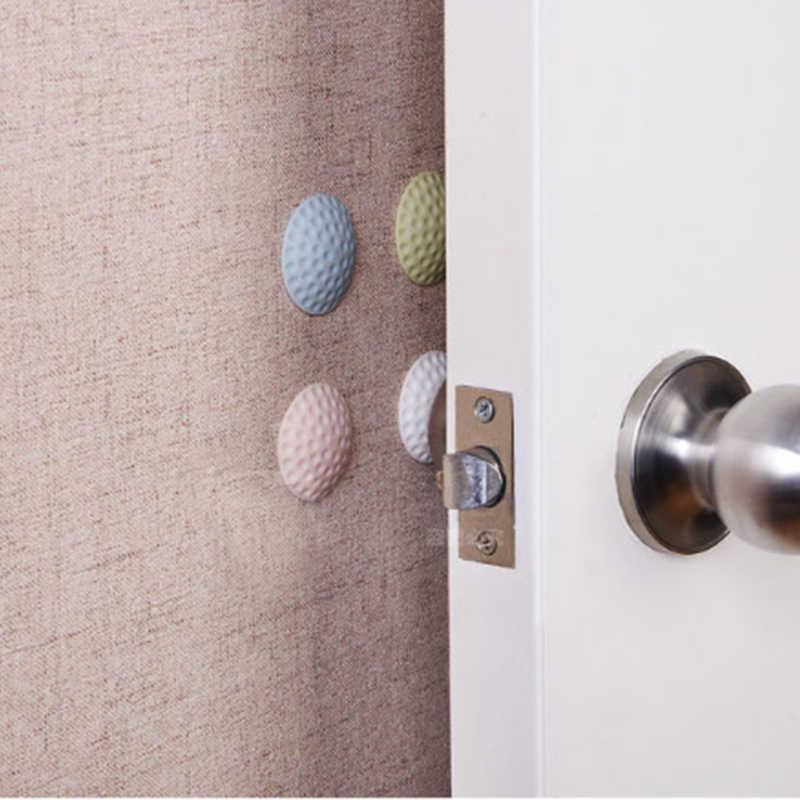 1Pcs קיר עיבוי אילם דלת מקל גולף סטיילינג גומי פגוש ידית דלת נעילת מגן כרית הגנת בית קיר מדבקה