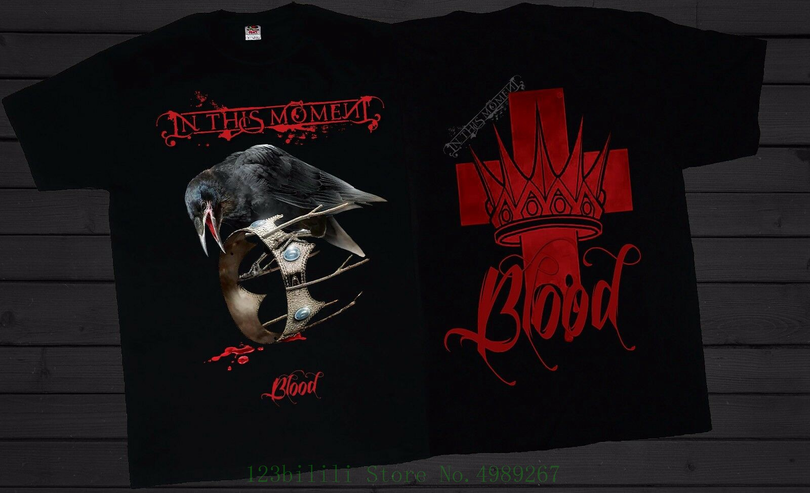 T/_shirt-SIZES:S to 6XL Rise of the Blood Legion In This Moment