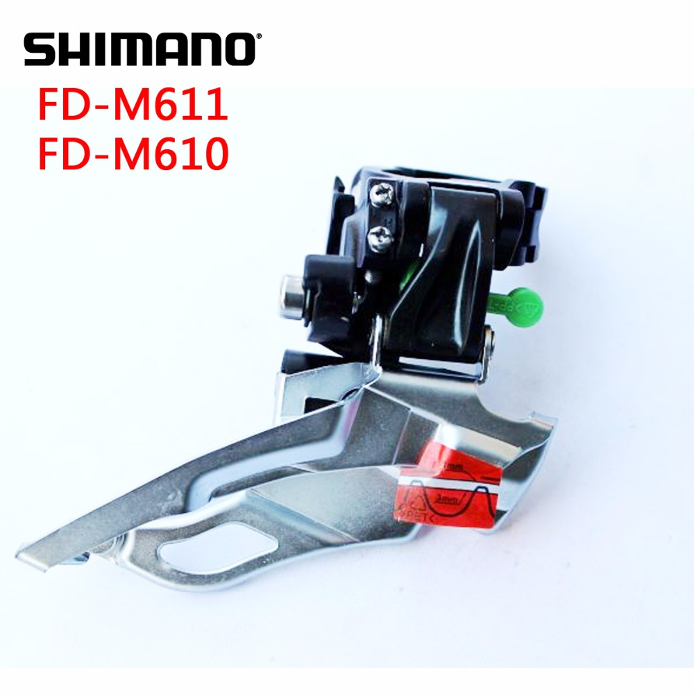 SHIMANO Deore FD M610 M611 M615 Front Derailleurs MTB Bike Mountain Bicycle Parts for 3x10S 30S Speed