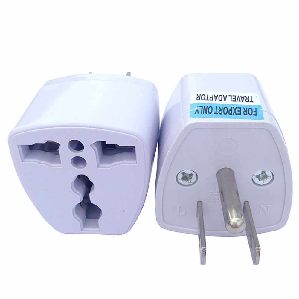 Travel Adapter Eu To Uk Universal Eu Uk Au To Us Usa 3 Pins Usa Plug Canada Ac Travel Power Plug Adapter Converter 9 21