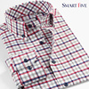 100 Cotton New Camisas Men Shirt Casual Plaid Long Sleeve Mens Dress Shirts Plus Size