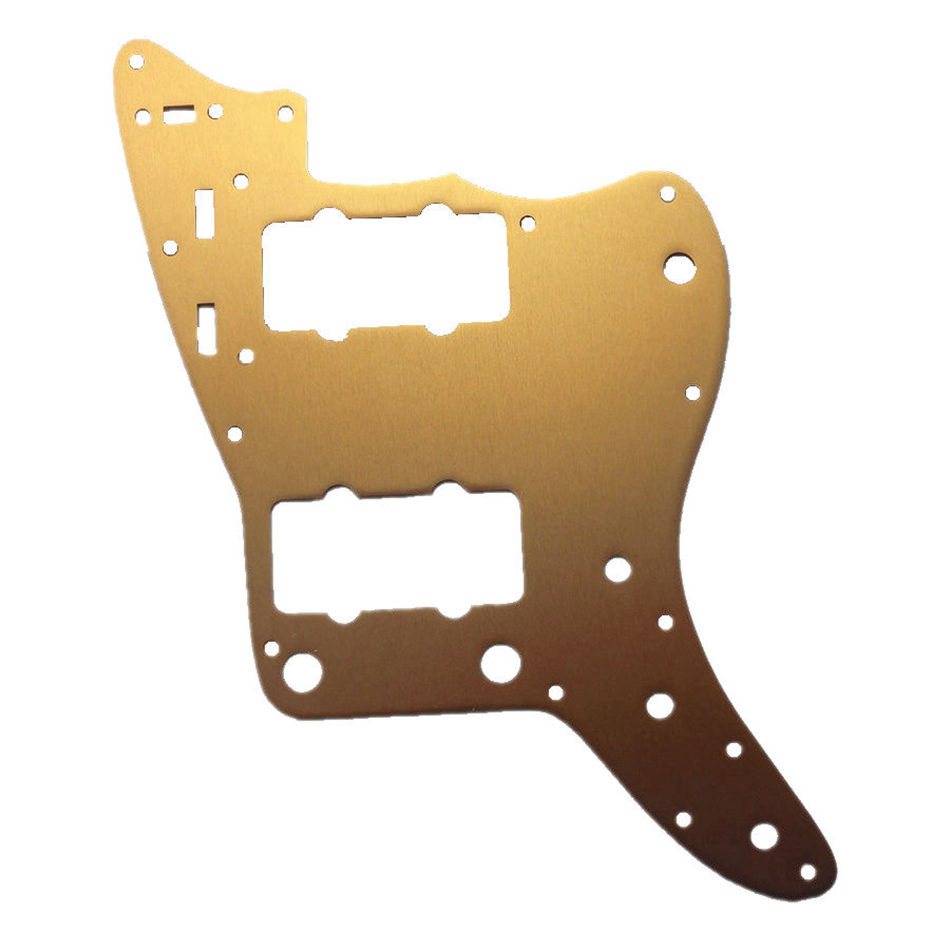 Sell Free Shipping Aluminum guitar pickguard Gold Color Jazzmaster Guitar Pickguard