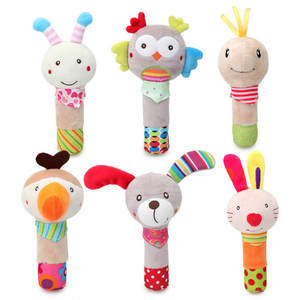 Baby Rattle Mobiles Soft Plush Toys for 0-12 Months