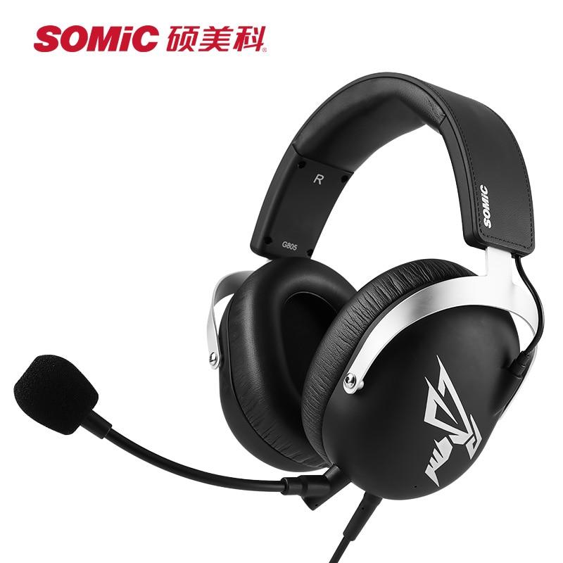 SOMIC Gaming Headsets usb 7.1 Virtual hoofdtelefoon casque met Microfoon voor PS4 PC Computer Gamer Video Game Xbox Game oortelefoon - 2