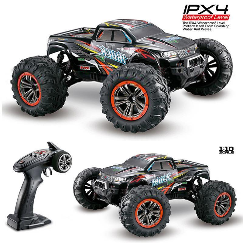XINLEHONG jouets 9125 RC voitures 2.4GHz 1:10 4WD 46 km/h voitures de course supersonique monstre camion tout-terrain véhicule Buggy enfants jouet cadeau