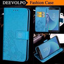 DEEVOLPO Case For Samsung Galaxy S8 Plus J3 J5 J7 A3 2017 J1 A5 2016 Prime SM J330 J530 J730 J520 J720 A320 A520 A720 Cover DP61 flip stand book style silk case for samsung galaxy a3 a5 a7 j1 j3 j5 j7 2016 2017 pro j730 j330 a520 phone case protection shell