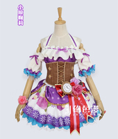 Love Live Cosplay Sunshine Aqours Ohara Mari Cosplay Costume Chocolate Valentine S Day Halloween Uniform Dress
