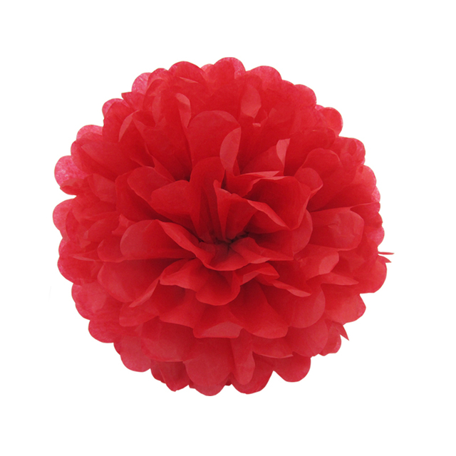 Aliexpress buy 10pcslot red tissue paper pom poms diy paper 10pcslot red tissue paper pom poms diy paper flower wedding themed party shop window mightylinksfo