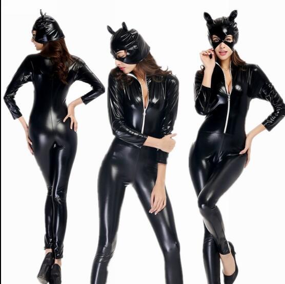Deguisement Chat Halloween de noël fantaisie mascarade noir chat fille filles cosplay jouer