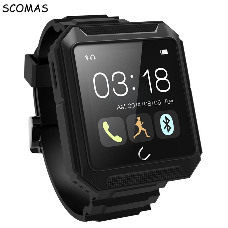 SCOMAS Ip68 waterproof Uwatch Uterra Smart Watche Blutooth compass smart electronics Android for Iphone for Samsung For Huawei ux uwatch bluetooth 3d magsensor android iphone