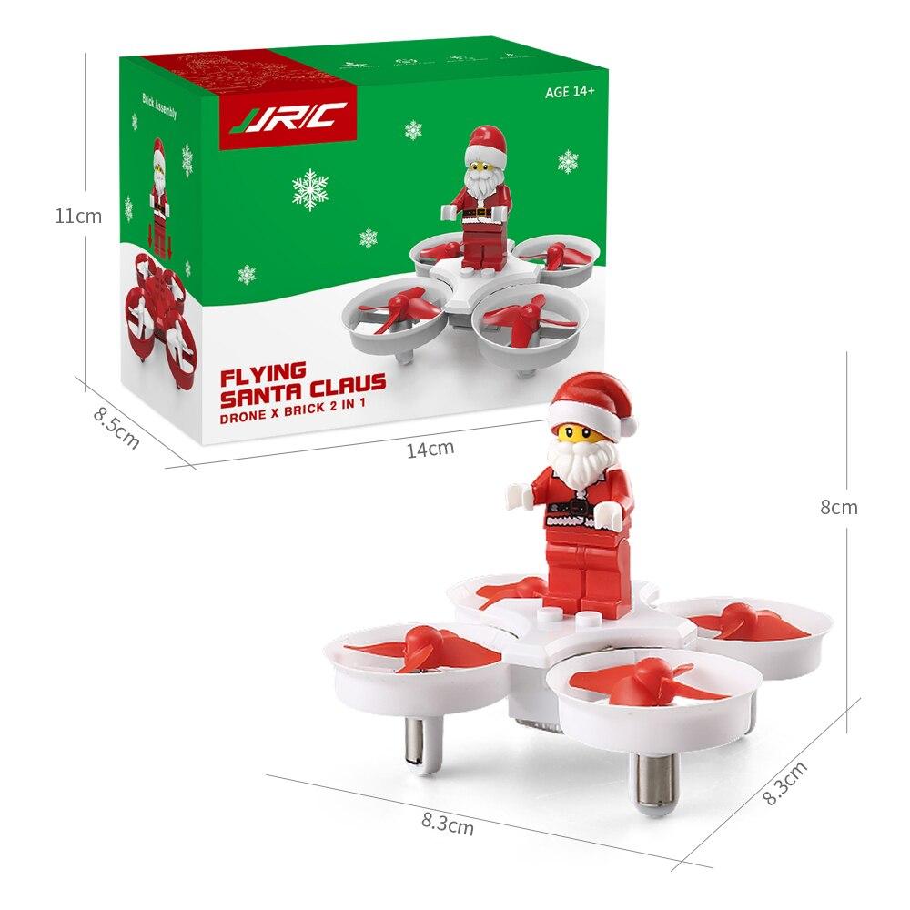 Flight-model H67 RTF 2.4G 4CH Mini Drone Flying Santa Claus w/ Christmas Songs Christmas Gift