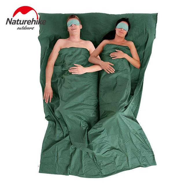 Naturehike Ultralight Camping Sleeping Bag Liner Spring And Autumn Equipment Double Travelling NH15S012