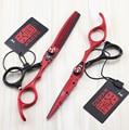 6.0 Inch Kasho Barber Scissors hairdresser's scissorsProfessional Hair Scissors Hair Cutting Shears Thinning Scissors