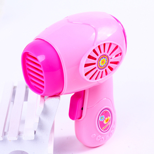 Image 5 - 1PCS Kawaii Pretend Play Mini Simulation Kitchen Toys Light up & Sound Pink Household Appliances Toy for Kids Children Baby Girl