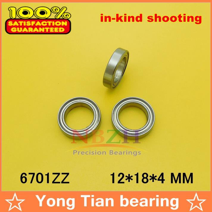 10pcs free shipping The high quality of ultra-thin deep groove ball bearings 6701ZZ 61701ZZ 12*18*4 mm gcr15 6026 130x200x33mm high precision thin deep groove ball bearings abec 1 p0 1 pcs
