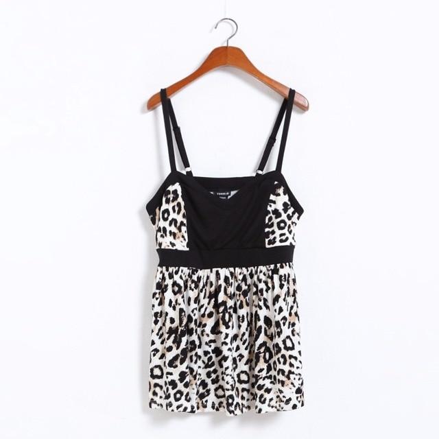 Novelty Sexy Large Size Women Leopard Print   Lace Party Corset Camis Peplum  Top Big Plus Size Women Clothing 4XL 6XL 7XL 10XL 54cb621c9