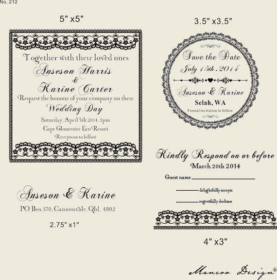 Custom Return Address Stamp Love Calligraphy Wedding Personalized For Invitation