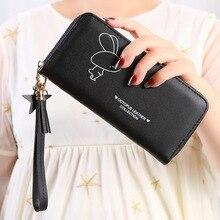 Fashion Tassels Women Long Clutch wallet Phone Pocket Card Holder Multifunctional Female Wristlet Band Purse Lady's bag carteir