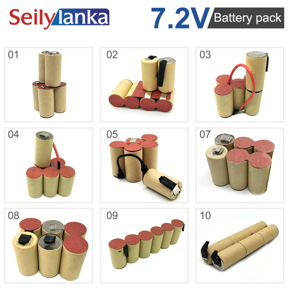 z (Scustomization) <font><b>7.2V</b></font> <font><b>battery</b></font> pack SC <font><b>Ni</b></font> <font><b>MH</b></font> tool <font><b>battery</b></font> electric drill vacuum cleaner according to the sample custom welding image