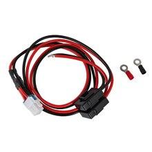 새로운 1 m 4 핀 단파 라디오 전원 공급 장치 코드 케이블 icom IC 7000 IC 7600/ft 450/TS 480 ft 991 ft 950 coppe 없음