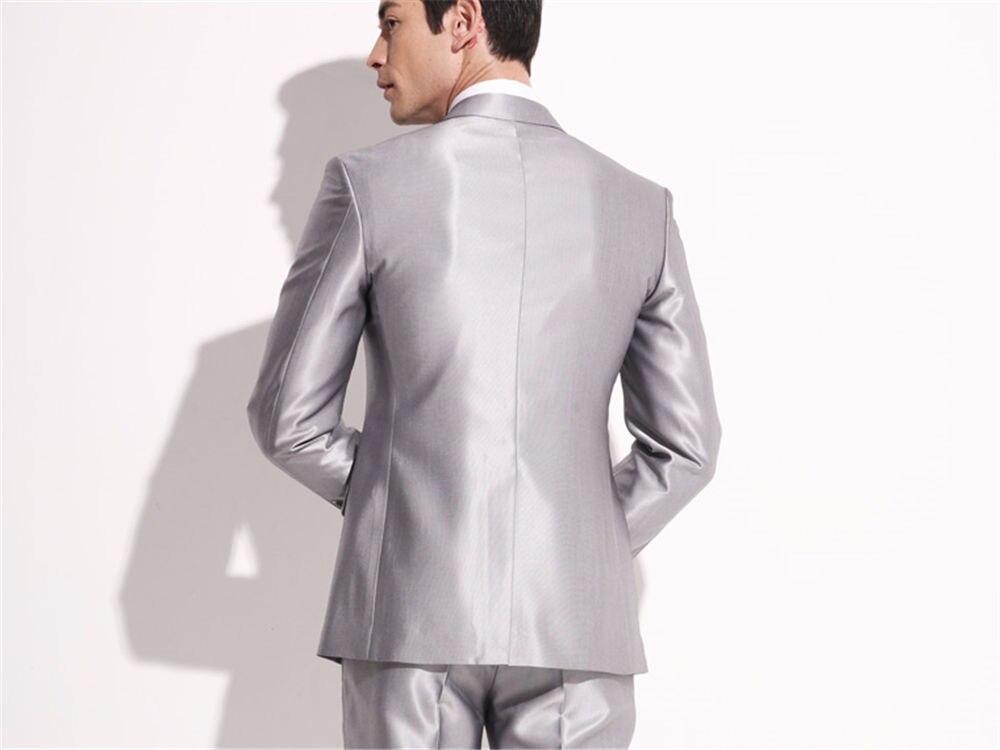 1e02e82239dd Migliore Vestito Nuovo uomo prom As Groomsman Arrivo Sposa Made Dello  Risvolto Sposo Matrimonio Abito Custom Misura Da ...
