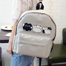 GRACEFUL  Girls Boys Canvas School Bag Travel Backpack Satchel Women Shoulder Rucksack women bag mochila bolsos mujer NOV16