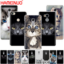 HAMEINUO cat kitty green eyes cute animal pet Cover phone Case for Xiaomi redmi 4 1 1s 2 3 3s pro redmi note 4 4X 4A 5A(China)
