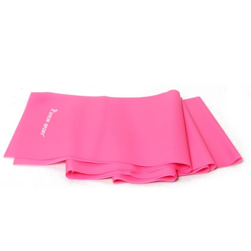 2m rosa fitnessutrustning verktyg med yoga motstånd band kraft - Fitness och bodybuilding