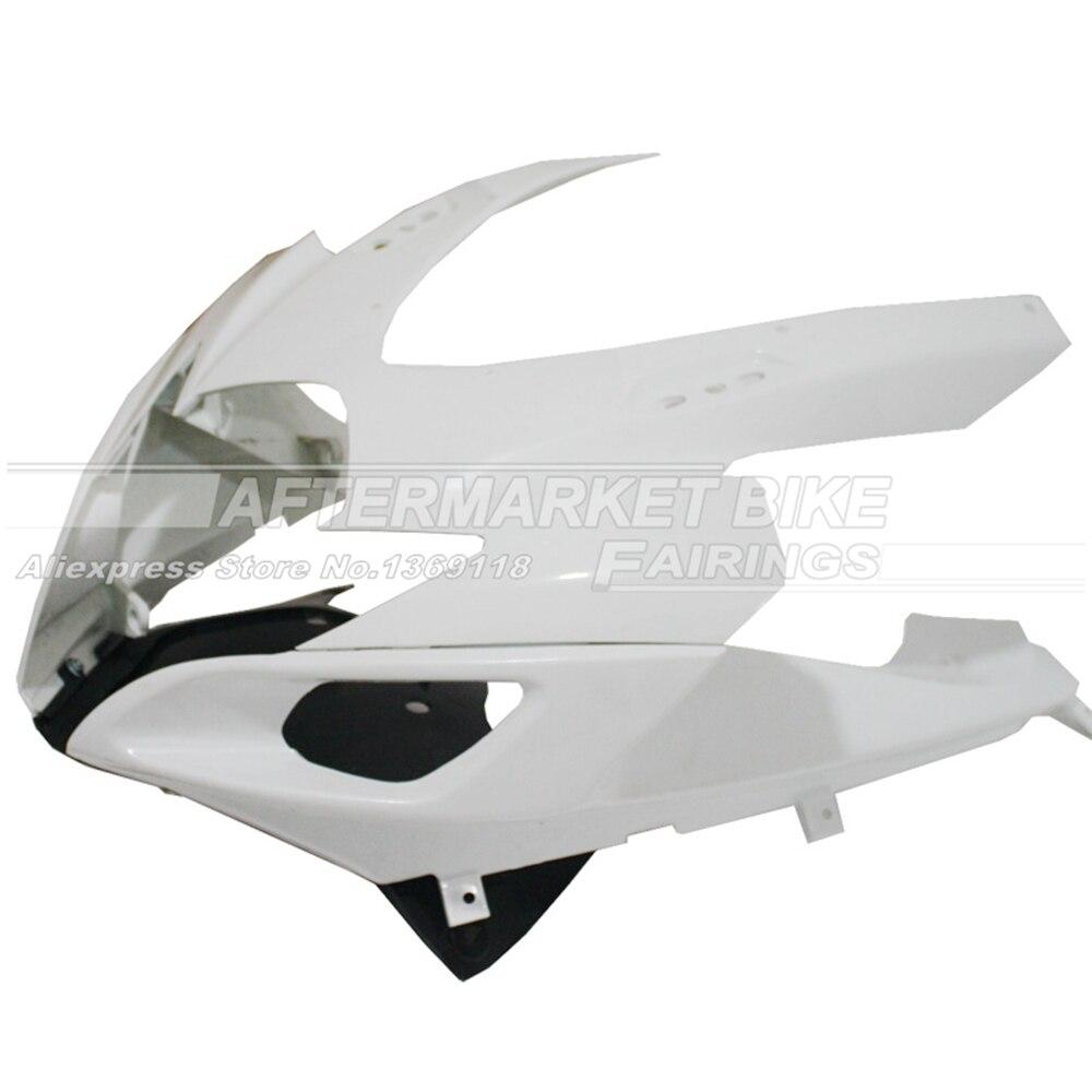 100% Virgin ABS Plastic Front Fairing Head For SUZUKI GSXR 600 / 750  2006 2007 K6 Upper Fairing Nose Cowling NEW new motorcycle ram air intake tube duct for suzuki gsxr600 gsxr750 2006 2007 k6 abs plastic black