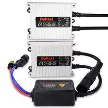 2 PCS AC Slim HID Xenon Lastro 12 V 35 W Hid Xenon Substituição da lâmpada Digital Lastro para hid xenon d2s H4 H7 H11 hb3 hb4 lastro