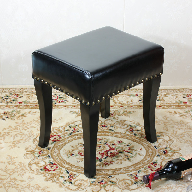 Solid Wood Bench Sofa Couch Storage Chest Furniture: Solid Wood Shoes Bench American Clothing Store Sofa Bench