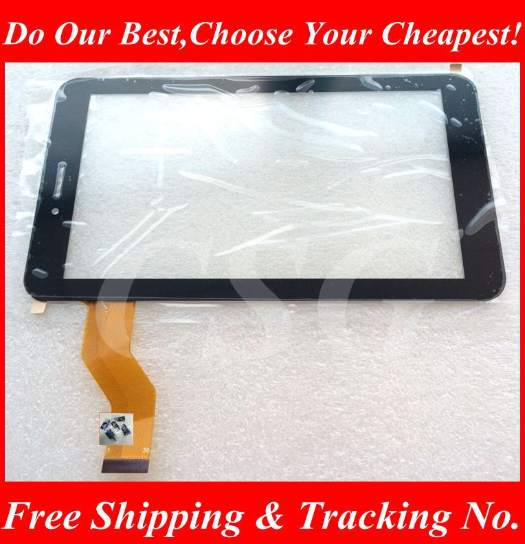1pcs 10pcs 7Inch Tablet PC Digma Optima 7.5 3g  30Pin Black TT7025MG Touch Screen Touch Panel Digitizer Glass Tablet PC MID