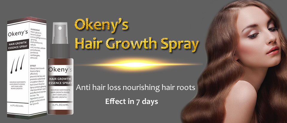 US $2 64 34% OFF|Okeny's Ginger Hair Growth Essence Spray 20ml Grow  Restoration Bread Oil Serum for Man Woman Anti Hair Loss Prevent  Baldness-in Hair
