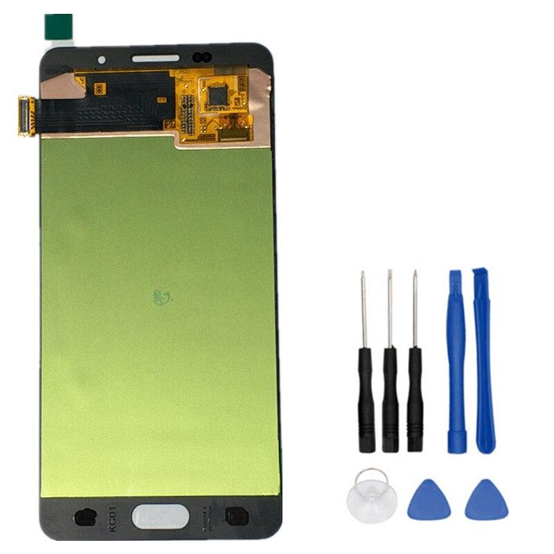 Coreprime 100% Testé LCD D'origine Pour Samsung Galaxy A5 2016 A510 A510F Écran Tactile Digitizer Assemblée + Outils