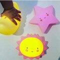 Звезды, Луна, Солнце Дети Спящая Light Safe-СВЕТОДИОД Ночь Свет Лампы Безопасности Электрические Аксессуары Детские Мальчики Девочки игрушки Украшения Комнаты