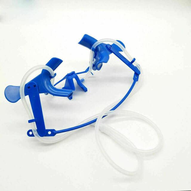 Dental Nola Retractor Oral Dry Field System Lip Cheek Retractor Tongue (Blue)
