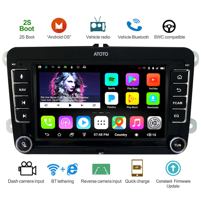Special Price ATOTO A6 Android Car GPS Navigation Stereo/for
