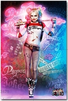 Diamond Embroidery Square Full Decorative Diy 5d Diamond Painting Harley Quinn Suicide Squad Superhero Diamond Cross