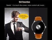 K88h smart watchผู้ชายนาฬิกาข้อมือที่มี1.22นิ้วหน้าจอรอบสนับสนุนหัวใจป้องกันการสูญหายrate monitorบลูทูธm ontreกีฬาcardio