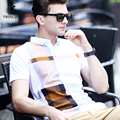 Troilus 2016 Summer Men Polo Shirts Color Block Plaid Short Sleeve Cool Cotton Slim Fit Casual Business Men Shirts Luxury Brand