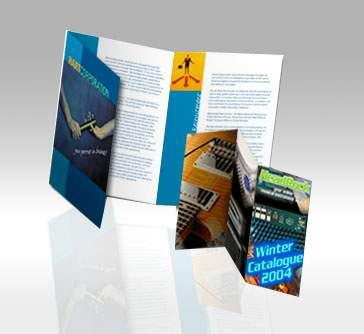 A4/A5 Size 2 Or 3 Folded Brochure Printing