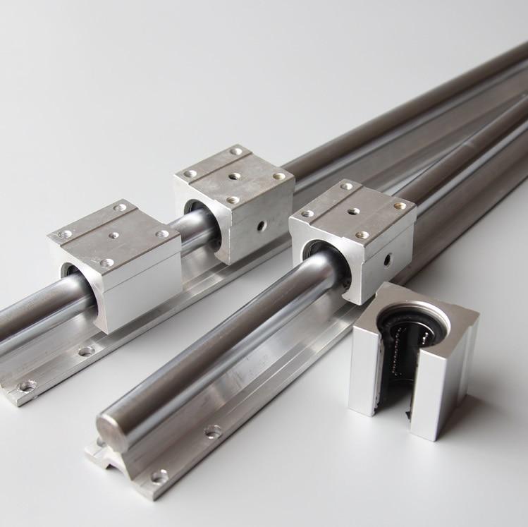 SBR20 1000mm Support Linear Guide SBR20UU Linear Bearing 30x1000mm linear shaft bar SC30UU MSB15S N