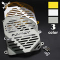 Free Shipping Matte Surface Aluminium Alloy Motorcycle Radiator Guard Radiator Grille Cover Fits For YAMAHA NMAX155 NMAX