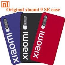 Orijinal Xiaomi mi 9 se durumda koruma mat kapak için Xiaomi Mi9 kutusu MI mi 9SE ultra ince 1MM kalınlığında