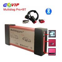 2017 Newest version 2014.R2/R3 Design Multidiag Pro+ bluetooth for Cars/Trucks and OBD2 Free Shipping