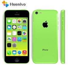 Apple – smartphone Iphone 5C d'occasion débloqué, téléphone portable, iOS, Dual Core, 8 go/16 go/32 go, caméra 8mp, écran 95% pouces, wi-fi, GPS, 3G, 4.0