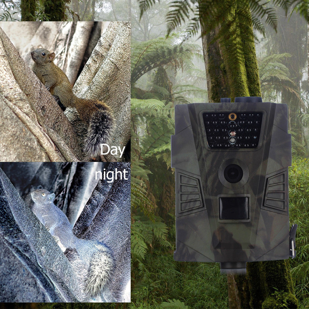 Wild cameras HT-001 without MMS LCD Screen Video Game Night Vision 940NM Invisible hunting trail camera for Animal Wildcamera