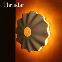 Thrisdar 인간의 PIR 모션 센서 밤 빛 USB 충전식 옷장 캐비닛 밤 램프